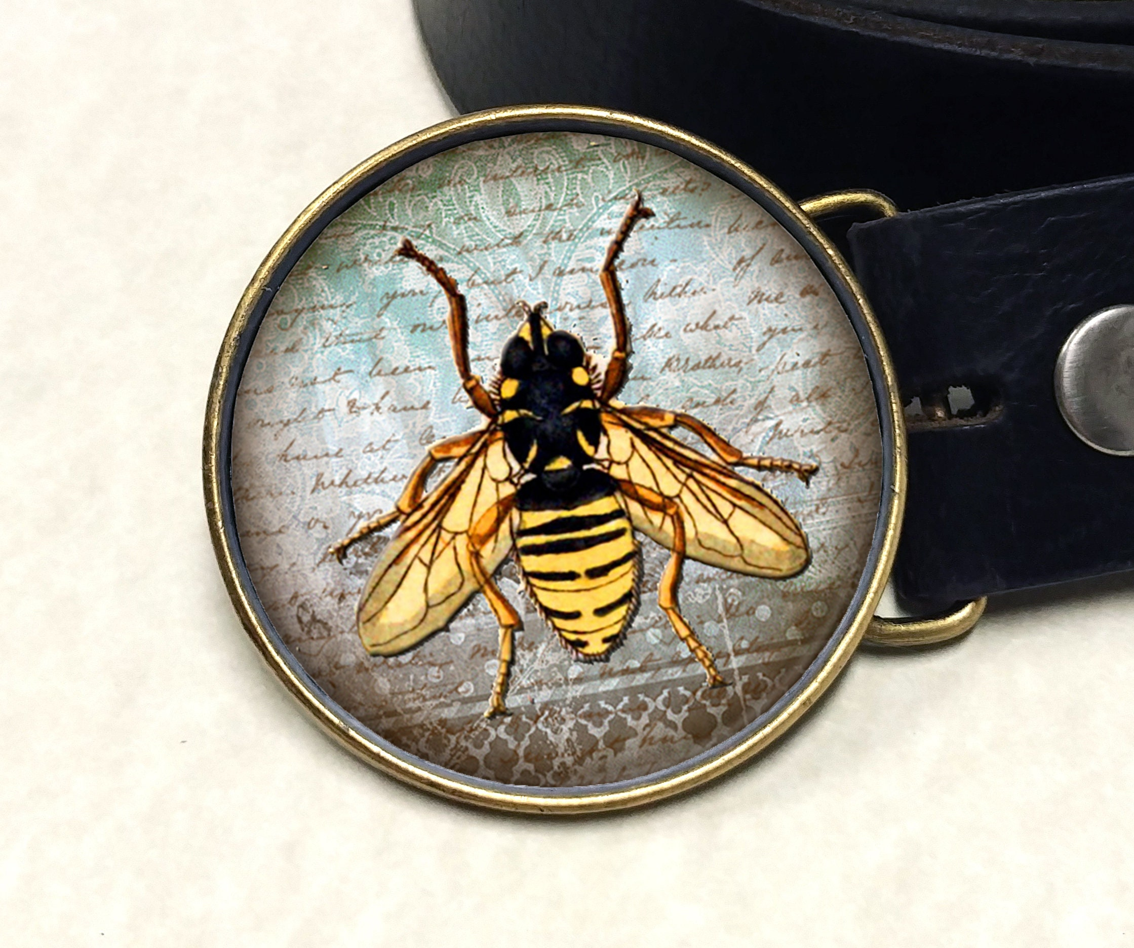 buckle gift card bee belt buckle custom gift for him or her choice of 5144