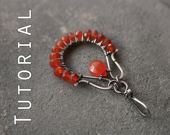 Tutorial: Wire-wrapped pendant