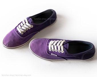 e3e6d4c44369b3 Purple dip dye Vans Authentic Lo Pro