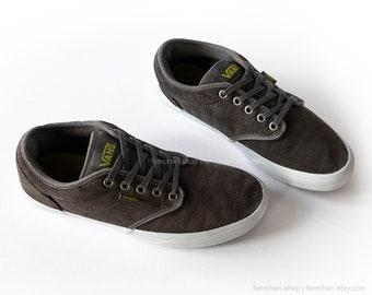 490f2cba4d2e07 Vans TNT 5 Trujillo skate shoes black suede low tops vintage