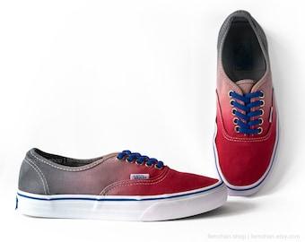 Ombré sneakers | Etsy