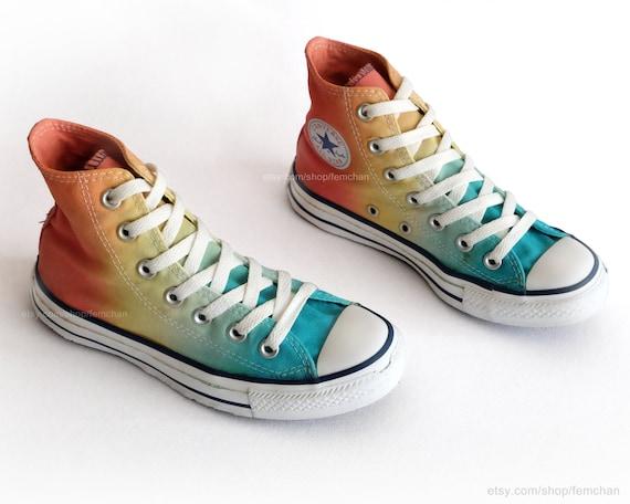 converse all star rainbow
