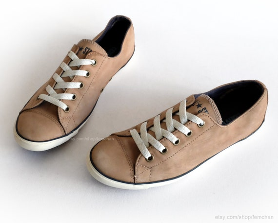 Converse Lite low tops, All Stars Dainty Ox, suede sneakers, leather shoes, casual shoes. Size eu 38,5 (uk 5.5, us wo's 7.5, us mens 5.5)