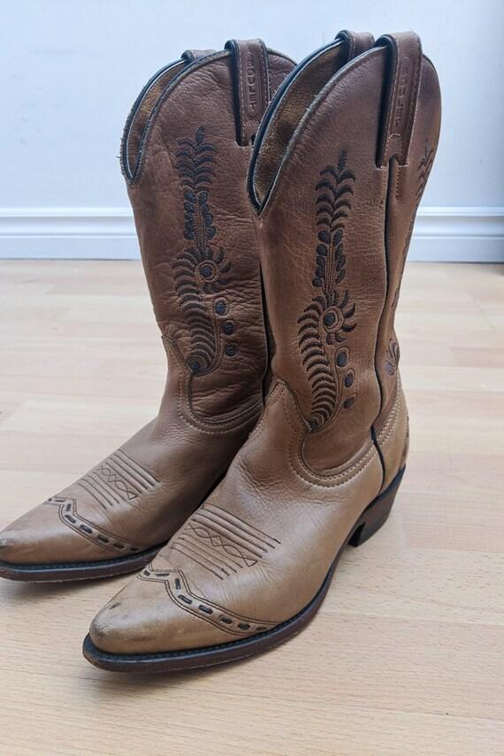 Bottes cowboy Boulet Canada Femme