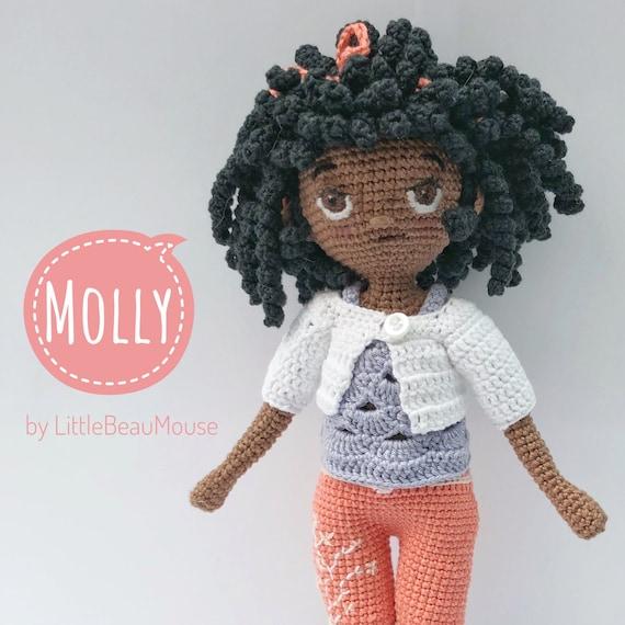 Molly Doll crochet pattern - Amigurumi Today | 570x570
