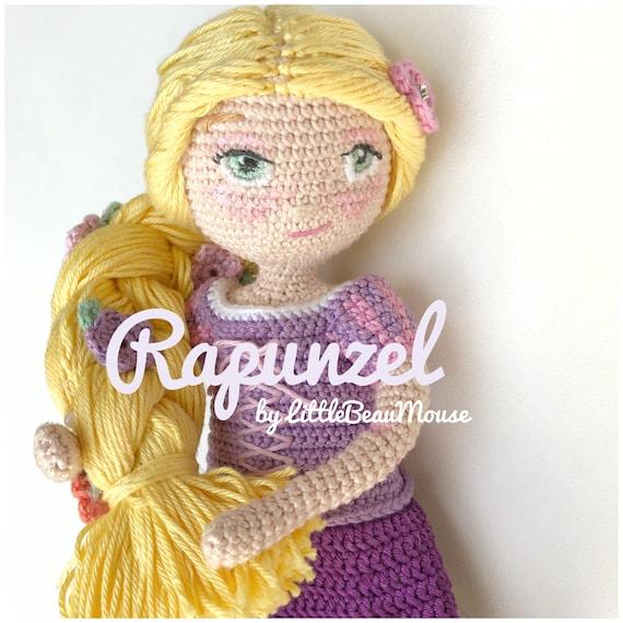 Rapunzel Prinzessin häkeln Kinderzimmer Rapunzel Amigurumi | Etsy | 570x570