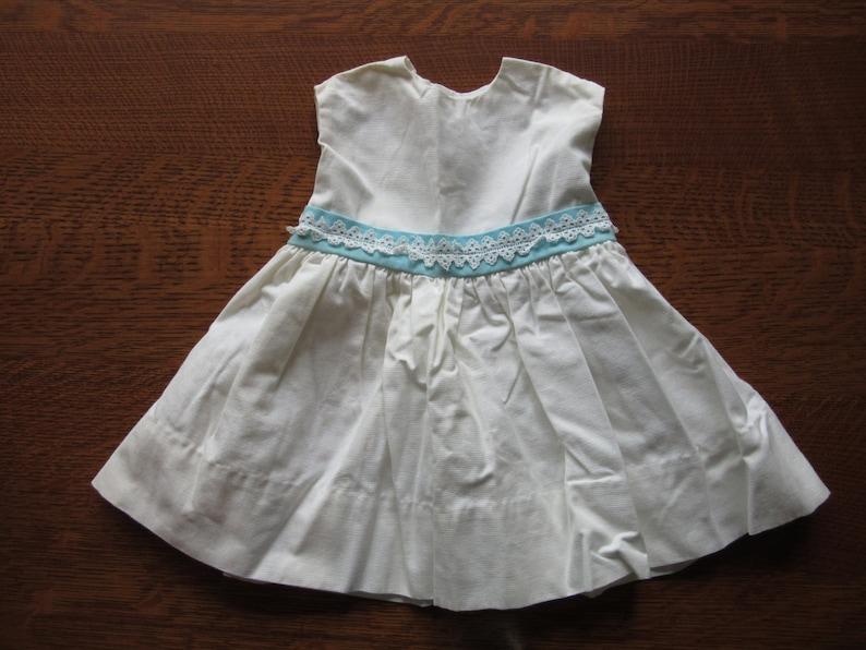 bdfc3a836 Vintage Baby Dress Vintage White Baby Dress Toddler