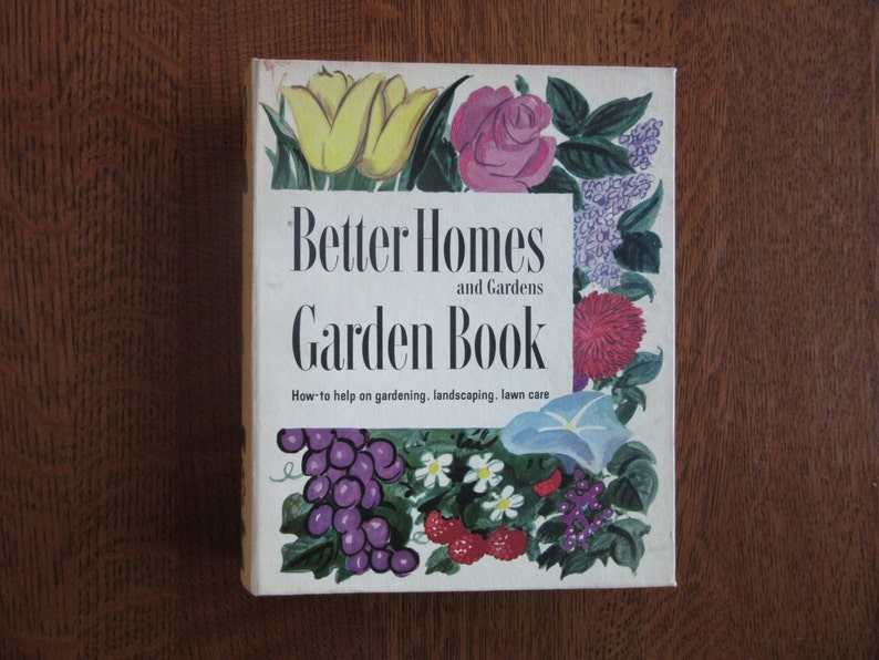 Vintage 1954 Better Homes And Gardens Garden Book How To Etsy