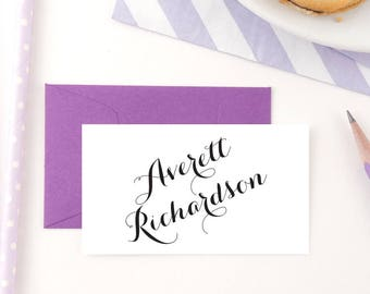Gift Enclosure Cards / Enclosure Cards for family / Enclosure Cards for wedding / Gift Enclosures / for him / for her /  Fulfillment