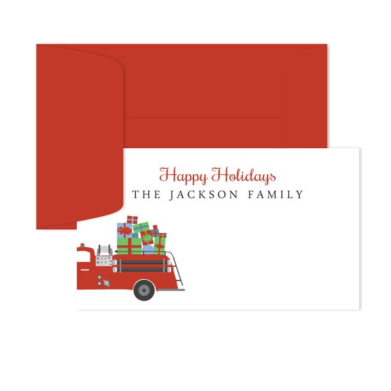 Christmas Gift Tags For Kids.Christmas Gift Tags Personalized Personalized Happy Holidays Gift Tags For Families Christmas Gift Tags For Kids Custom Tags Firetruck