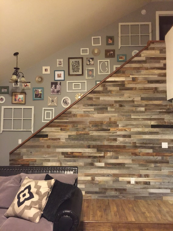 sale free shipping reclaimed wood wall paneling diy etsy