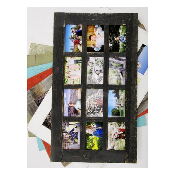 Collage Multiple opening picture frame with 9-5X7   Window Pane Style