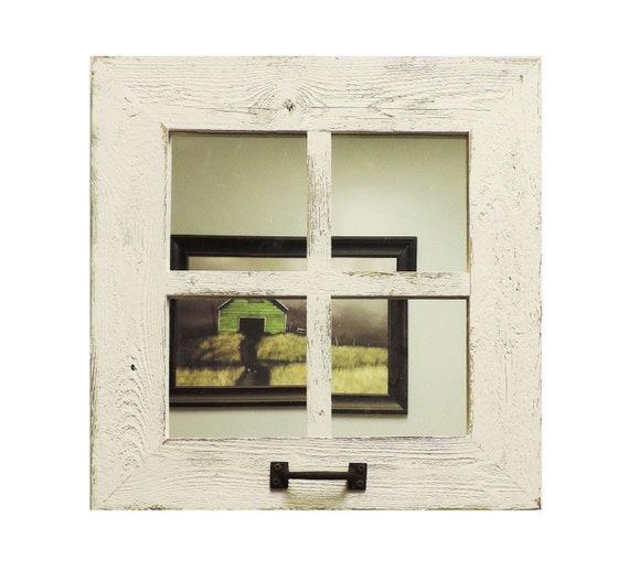 18 Square 4 Pane Window Frame Mirror, Decorative Window Frame Mirrors
