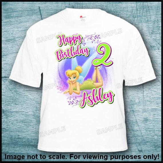 Disney Girls Team Tinkerbell T-Shirt