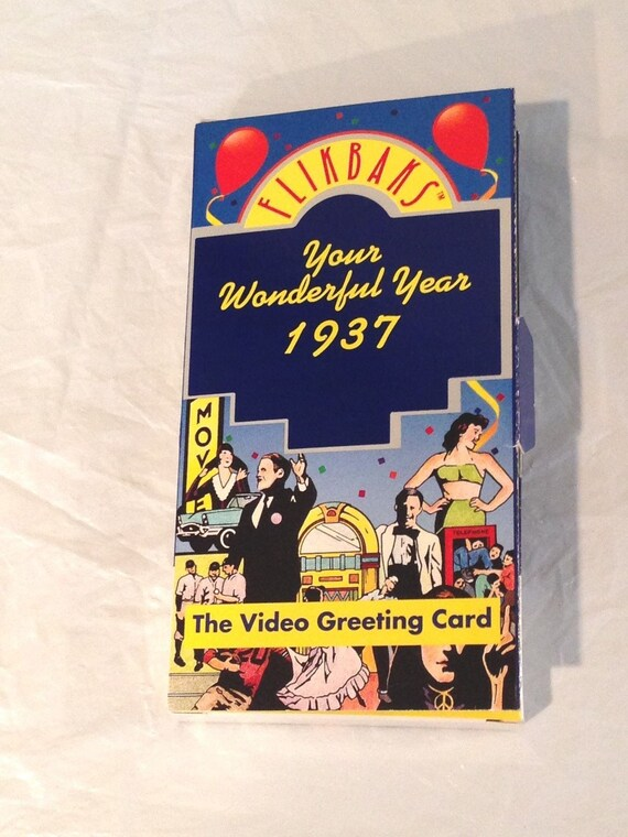 The Video Greeting Card FlikBaks Your Wonderful Year 1951 {VHS Video} 2000