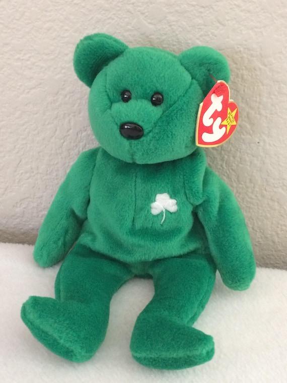 ae8ada7ecbe TY Beanie Baby Erin the Bear 1997 Retired