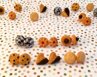 Cookie Earrings / Studs