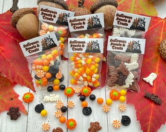 Miniature Halloween Candy in Hitty scale