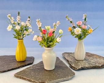 Miniature flowers 1:12 scale - Fresh flowers bouquet