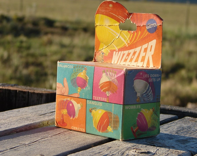 "Mattel ""Wiz-z-zer"", World's Wildest Whirler"