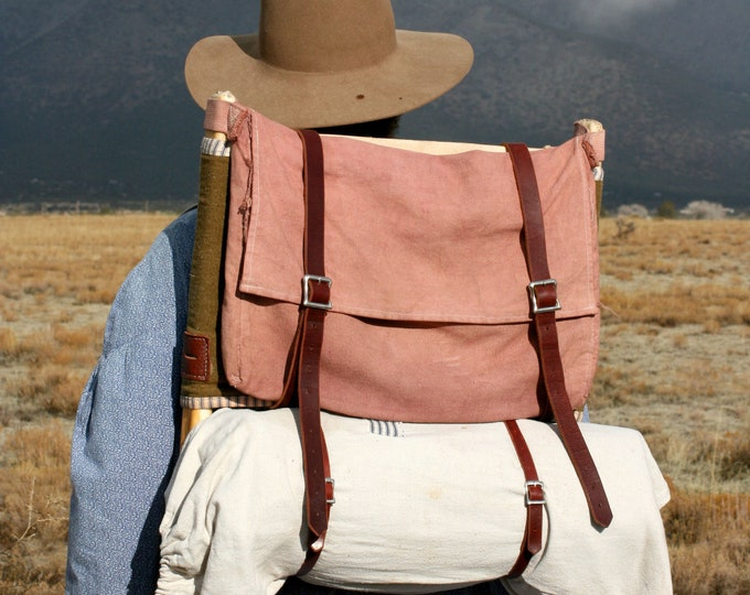 Wooden Frame Backpack