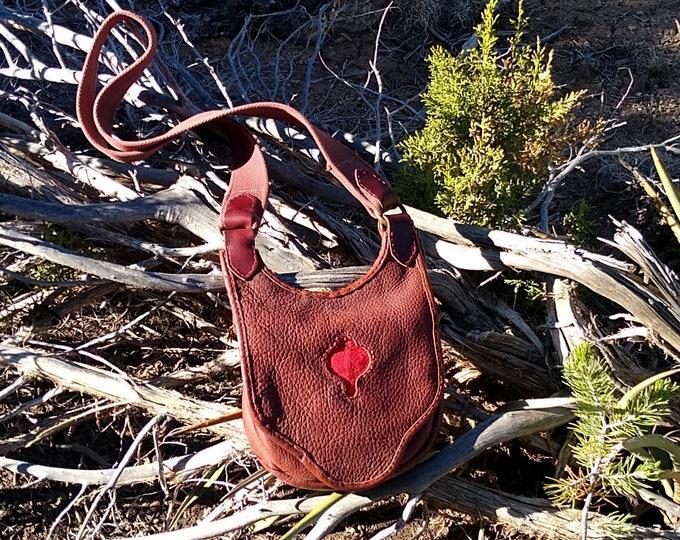 Bison Hide Possibles Bag
