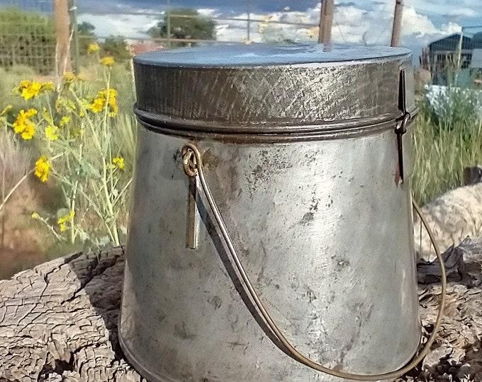 Japanese Made Tin Pot
