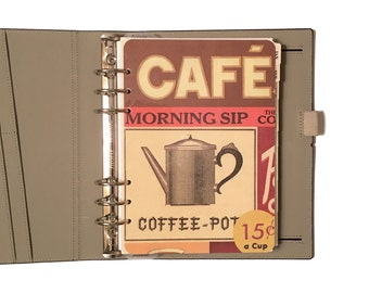 A5 Planner Dashboard: Coffee Lover