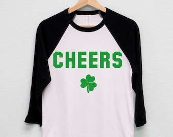 Patricks Day Mens Performance T-Shirt Clover San Diego State University St