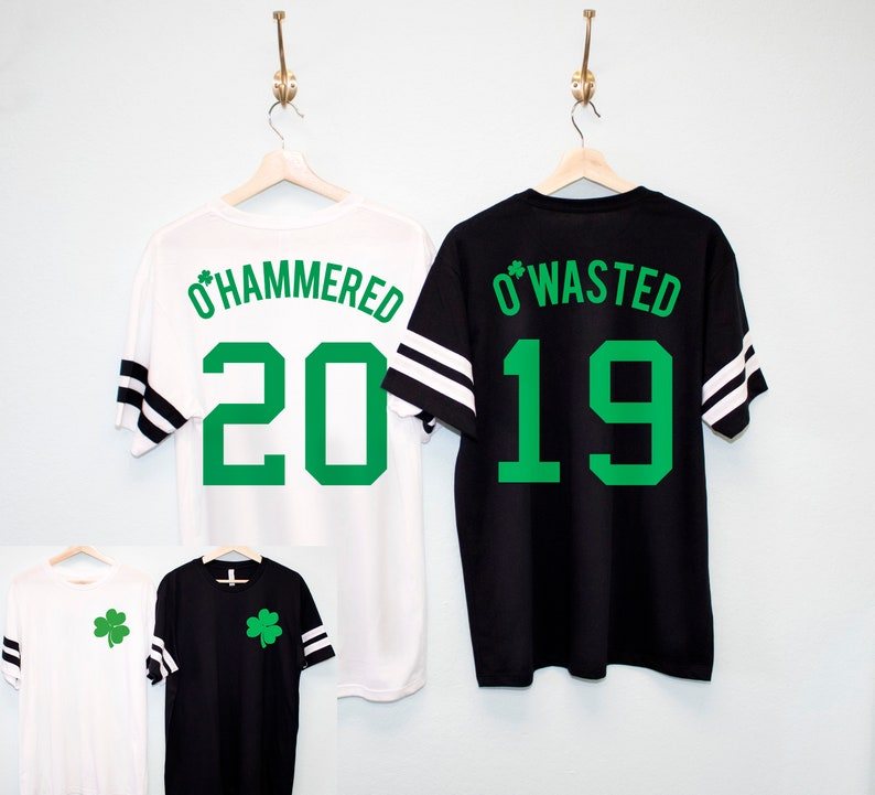 0d894cd3e O Wasted St. Patrick s Day Men s Shirt 5 Names