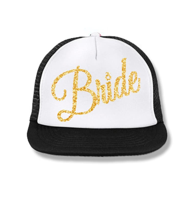 c737a99118eac BRIDE Snapback Trucker Hat Bride Hats Wedding Clothes