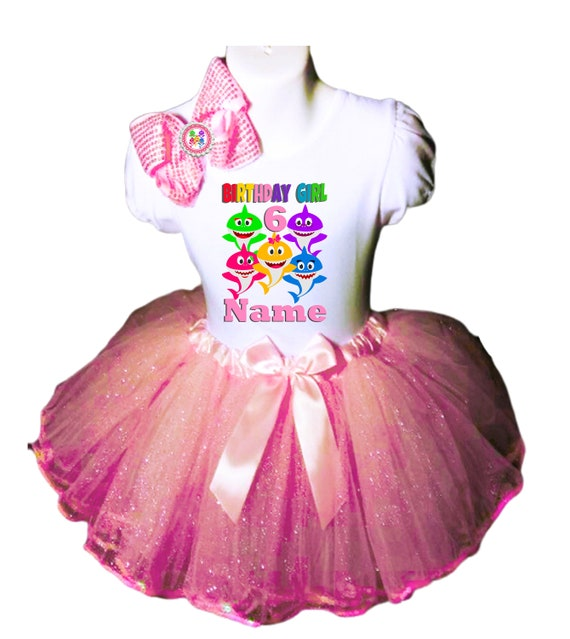 4th Birthday Dress shirt 2pc pink Tutu outfit Dora Party--With NAME-