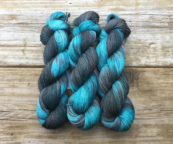 6ec82c8be3e8 Hand Dyed Merino Nylon Sock Yarn SW 100 gms 464 yds North to   Etsy