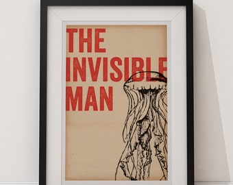 The Invisible Man - Universal Monsters 12x18 Poster