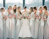 Ivory Pashmina Scarf Shawl Pick Your Color Personalized Initial Shawl Bridesmaid Shawl Wedding Favor Bridal Wrap Wedding Shawl