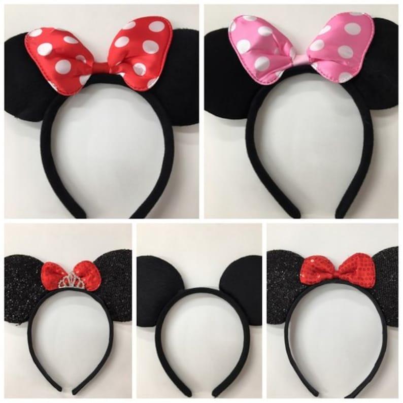 Boy Girls Mouse Ears Headband/Family Trip/Disney Party / Theme image 0