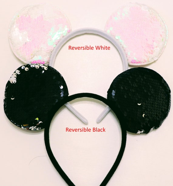 Mickey Minnie Mouse Ears Headband Silver Gold Black Mickey Ears Diy Minnie Mickey Mouse Headbands Party Supplies Crafting Minnie Ears