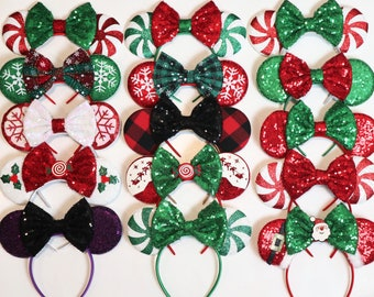 minnie mouse ears christmas