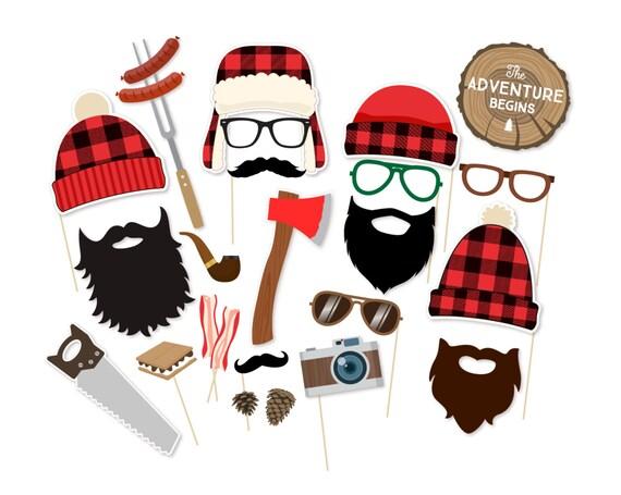 Lumberjack Props Black Beard Props Pirate Props