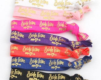 SALE Limited Time  | Bachelorette Party Favors | Team Bride Favors | Elastic Hair Tie Favors | Bridesmaid Gift | Bachelorette Survival Kit