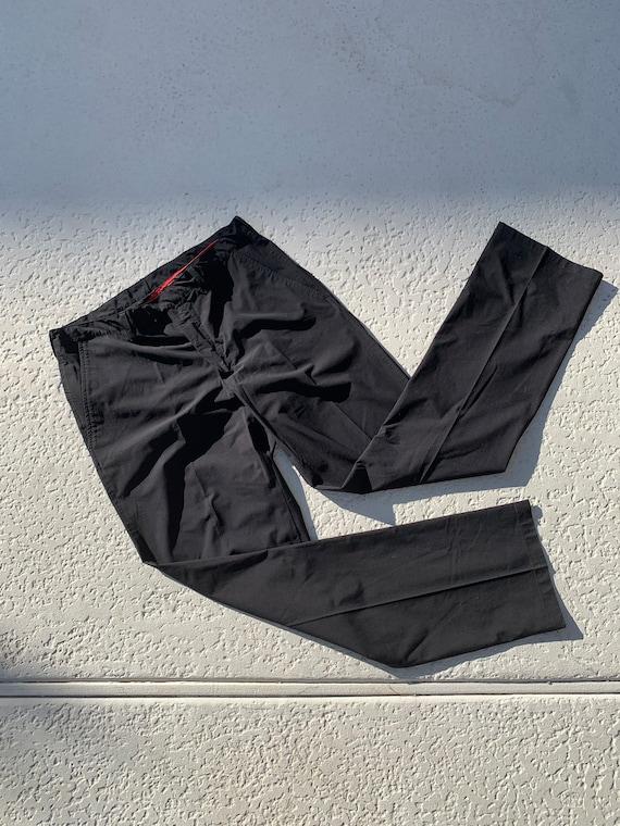L - 90's PRADA Sport Nylon Pants - image 4