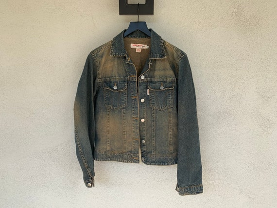 L - Y2K MISS SIXTY Stone Washed Denim Jacket