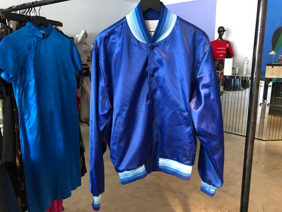 1980's Blue Bomber Jacket by Swingster