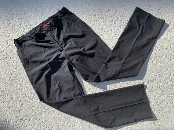 L - 90's PRADA Sport Nylon Pants - image 3