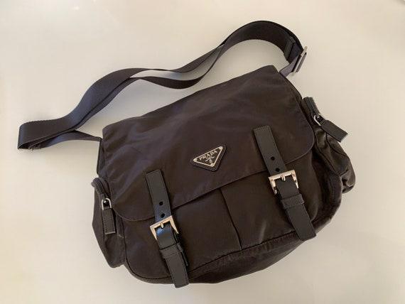90's Prada Nylon Tessuto Crossbody Messenger Bag - image 4