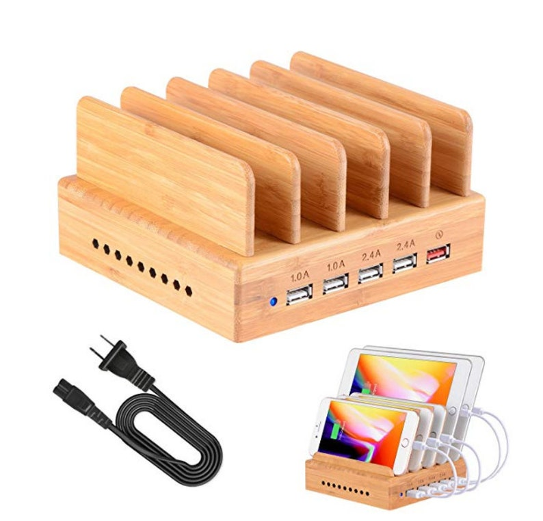 Charging Station  Phone Dock  Charging Stand  USB Charging image 0