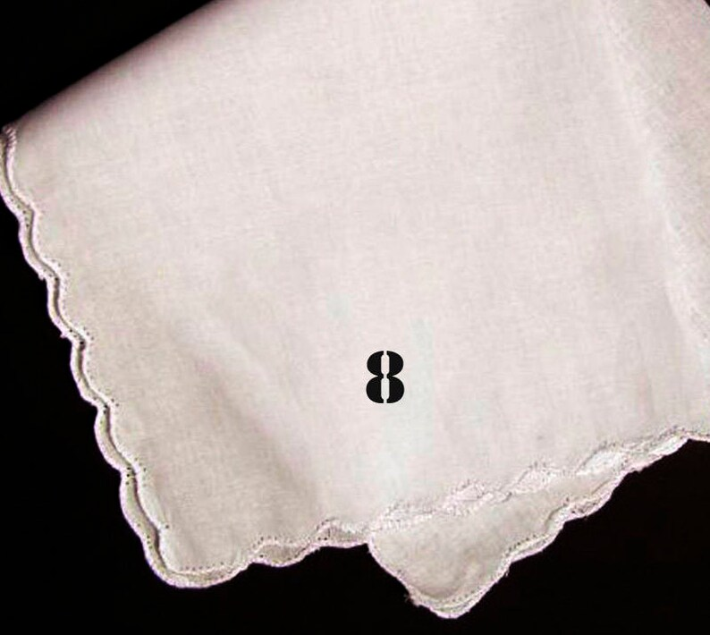 FREE Gift Box Embroidered Mother of the Bride Wedding Day Keepsake Custom Handkerchief
