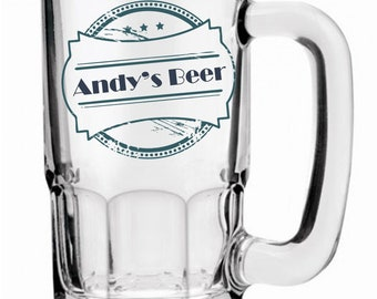 Collection Here Beer Stein My Computer Goes Down Girlfriend Funny Novelty Birthday Pint Glass Kitchen, Dining & Bar