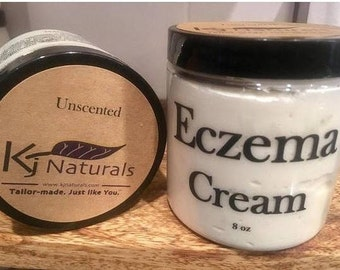 Eczema Cream for dry, itchy skin. For kids & adults.