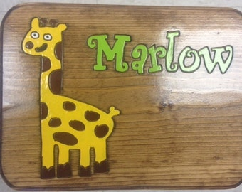 Kids Giraffe Stools